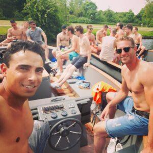 Vrijgezellenfeest Boottocht Den Haag mannen