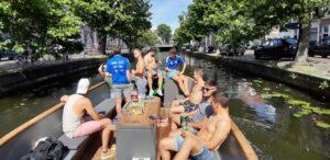 Vrijgezellenfeest mannen Boottocht Den Haag